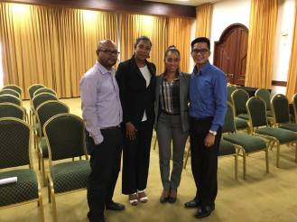 Change Management Meeting with Stakeholders for Hotel Client, Suriname