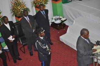 Former President of GRZ- Rupiah Banda Launches CARMMA