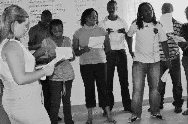 Facilitating Media Training -'Values Clarification' Exercis