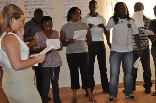 Leading a 'Values Clarification' Exercise, Media Training on Safe Abortion