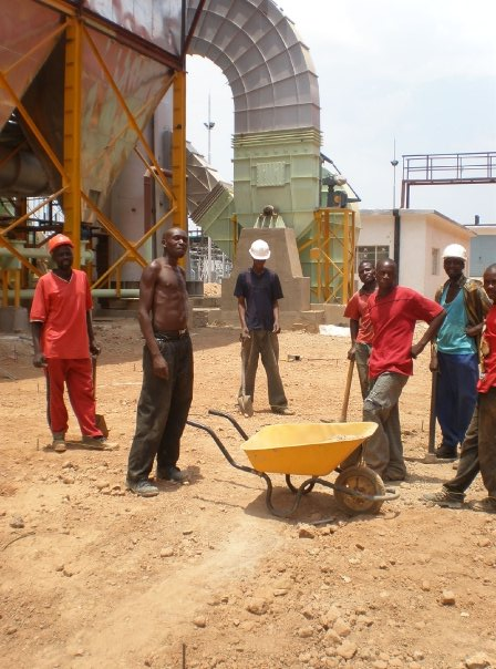 Steel Factory, Kafue, Zambia