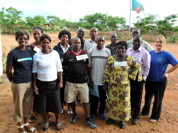 Site visit to Government Health Workers Implementing Youth Health project