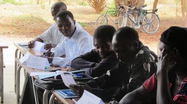 Capacity building workshop held on site by GDM Africa