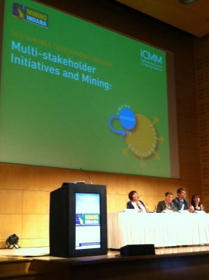Panel Discussions, Mining Indaba, Cape Town 2012