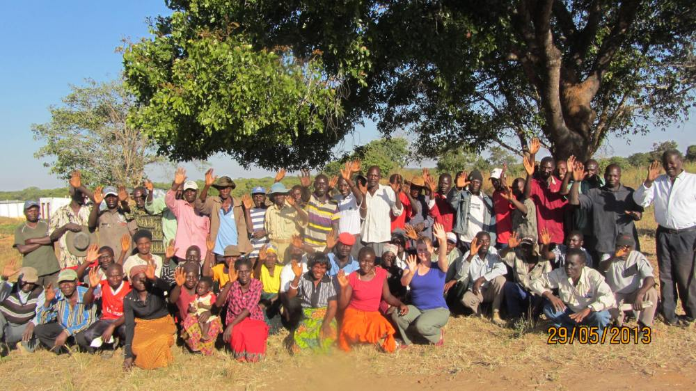 GDM Meets with Farmers in Rural Zambia